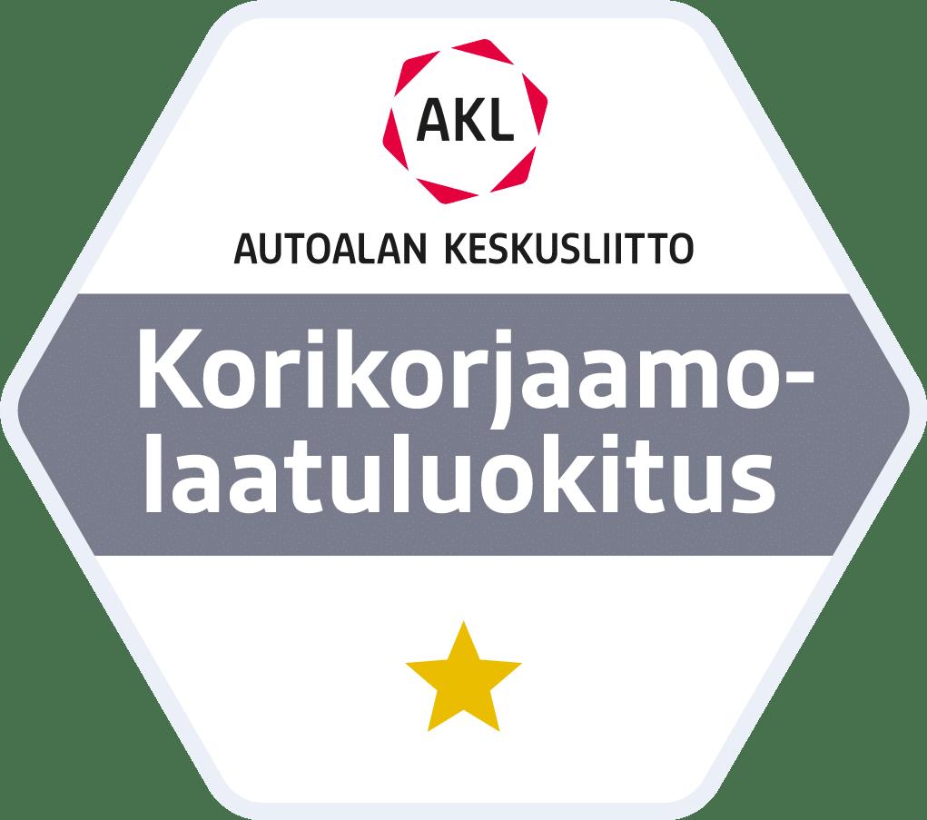 Autoalan Keskusliitto – Korikorjaamolaatuluokitus
